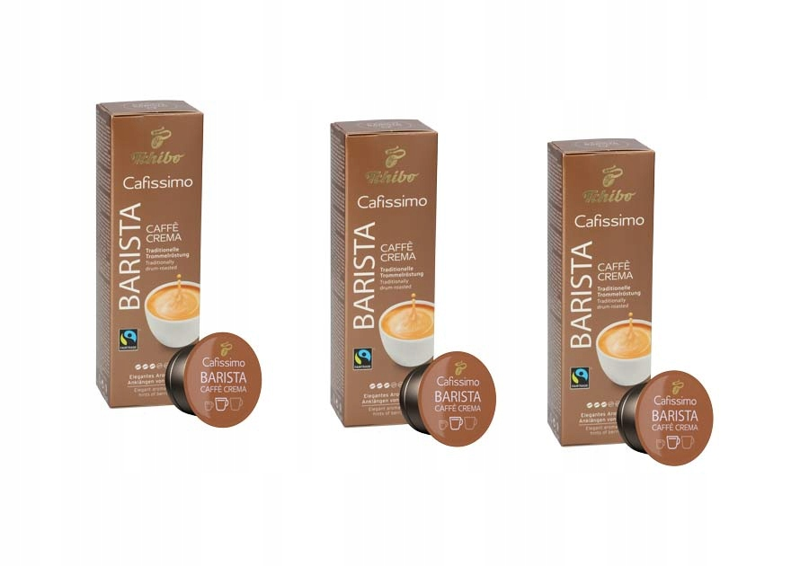 Купить КОФЕ Tchibo Cafissimo BARISTA CAFFE CREMA виноват КАПС на Eurozakup - цены и фото - доставка из Польши и стран Европы в Украину.