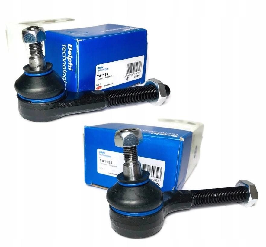 delphi наконечники поперечной peugeot 206 307
