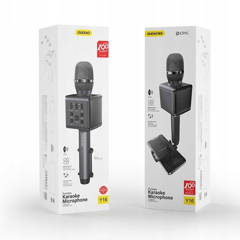 Bezprzewodowy mikrofon do karaoke Bluetooth Dudao Kod producenta Bezprzewodowy mikrofon do karaoke Bluetooth Dudao
