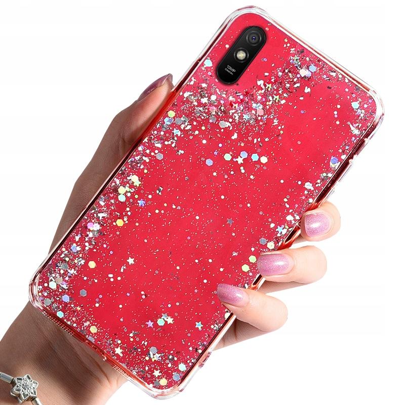 Etui do Xiaomi Redmi 9A Case Brokat + Szkło 9H