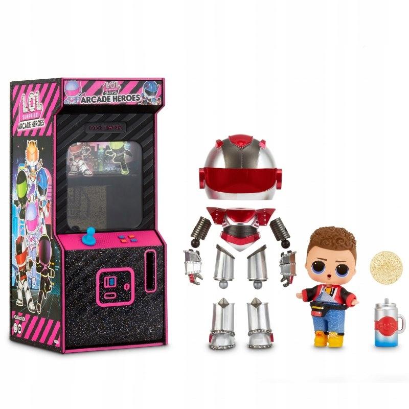L.O.L Surprise Boys Arcade Heroes bábika Gear Guy w