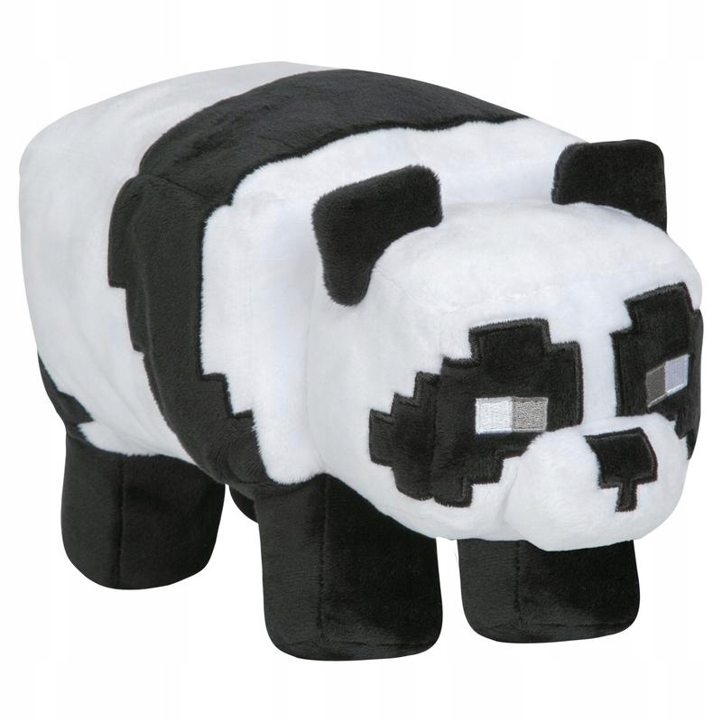 MINECRAFT PANDA PLUSH TOY MASCOT FIGURE STEVE