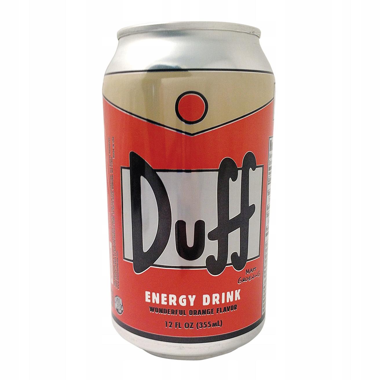 Duff Energy Drink - Napój The Simpsons 355ml USA