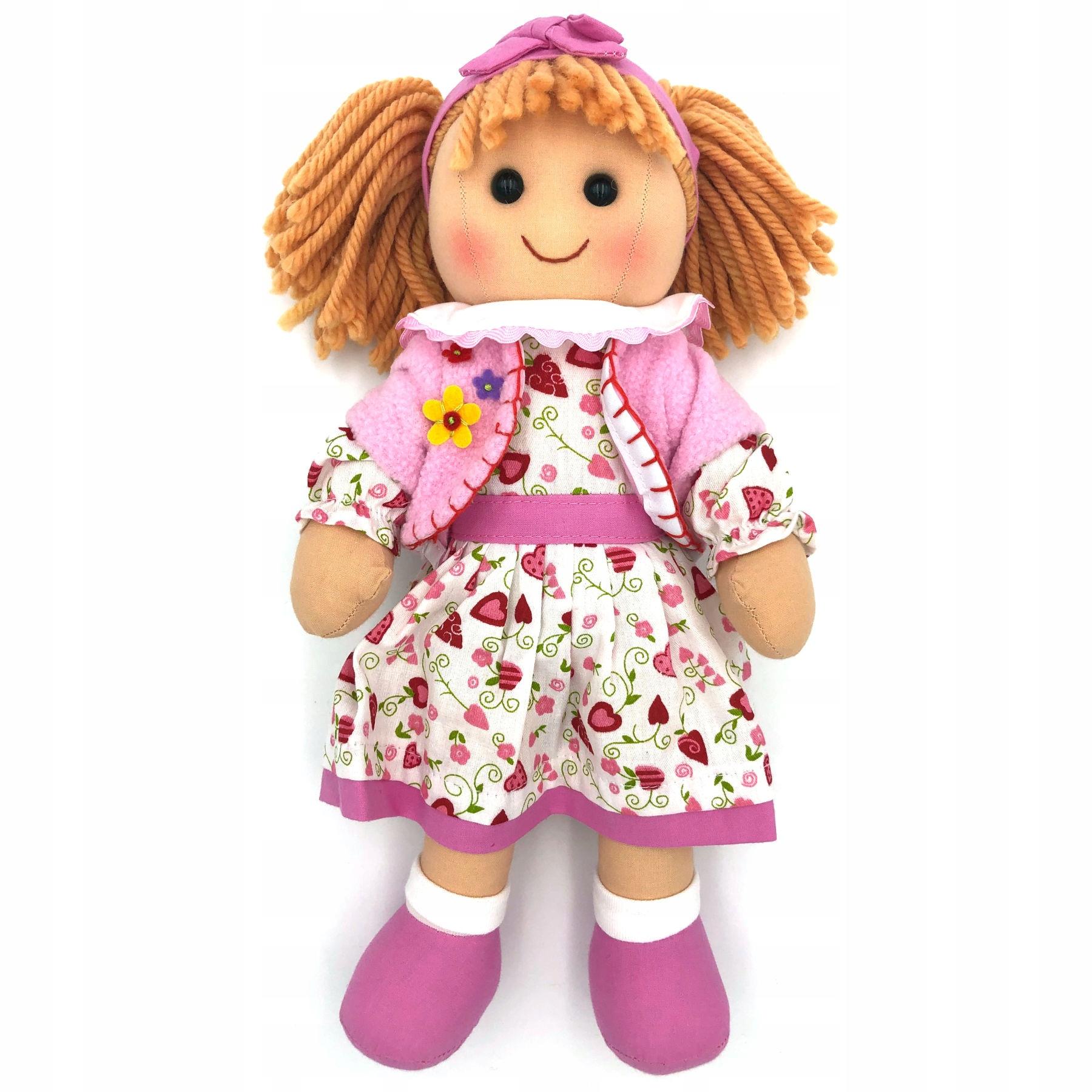 Plyšová hračka pre bábiku Kasia 34 cm