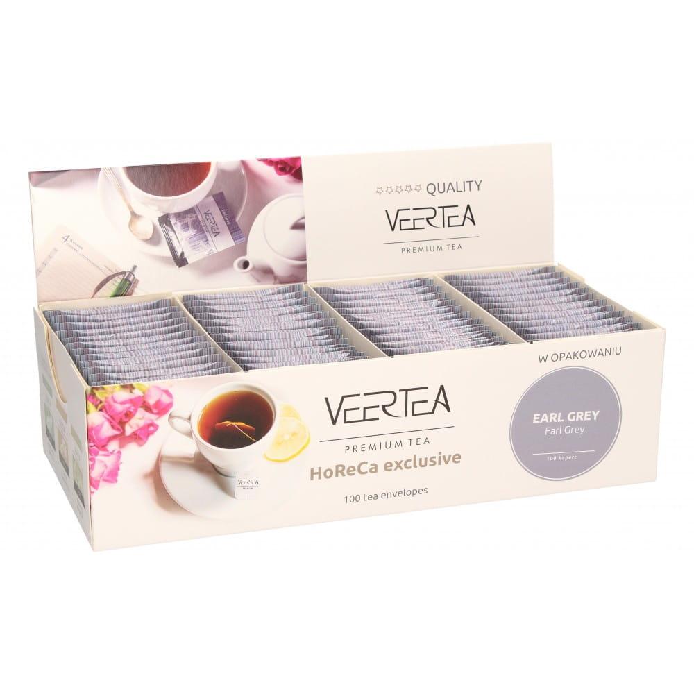 Чай VEERTEA EARL GREY 100 пакетиков