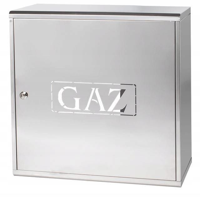 Skrzynka Szafka Gazowa 600 x 600 x 250 INOX na GAZ