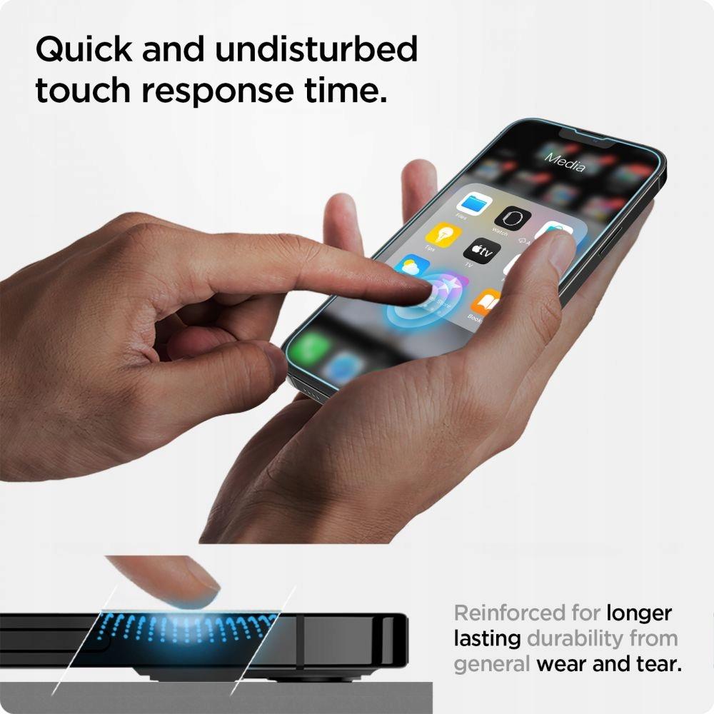 2x Szkło Spigen EZ Fit do iPhone 13 Pro Max Liczba sztuk w zestawie 2 szt.