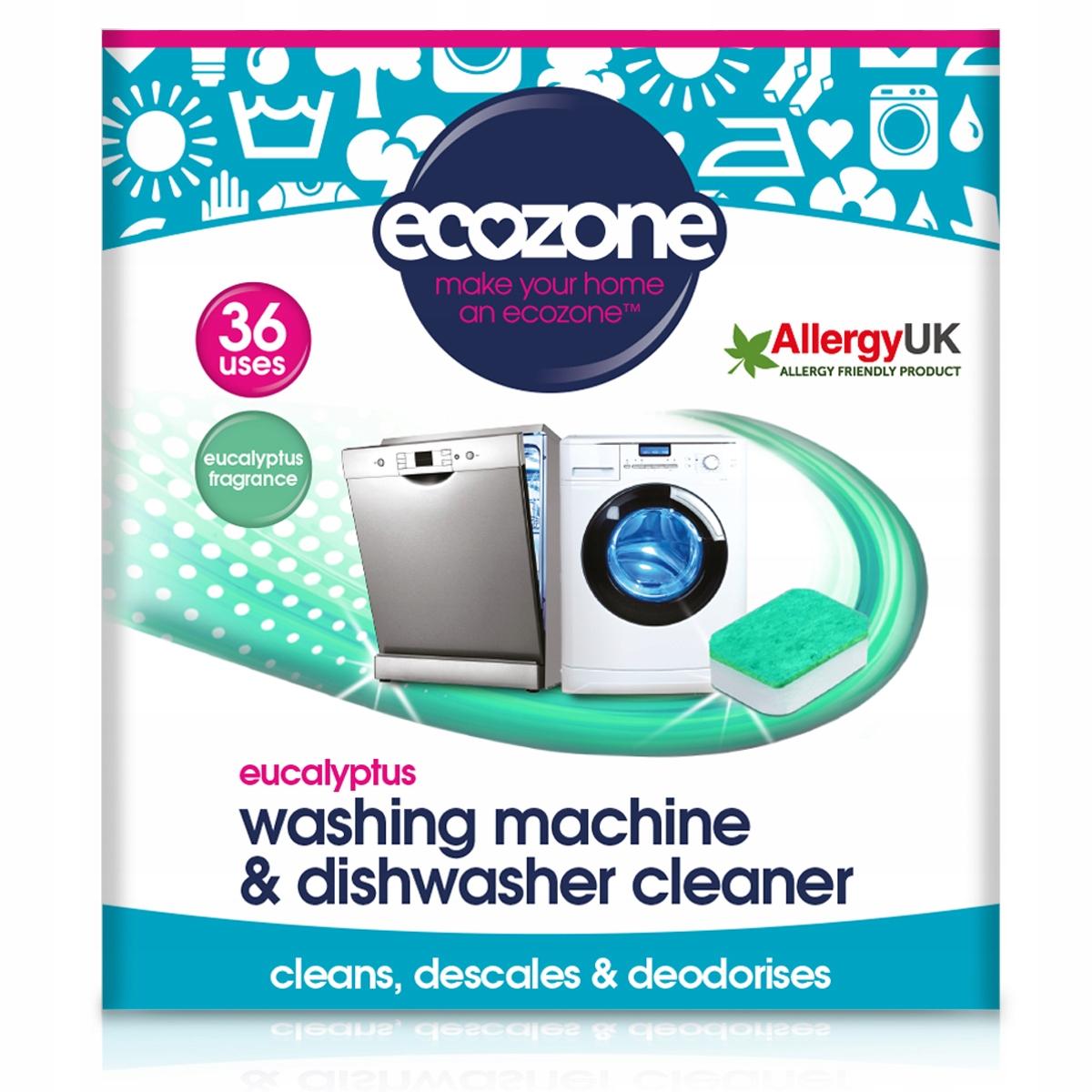 Prostriedky pre práčky a umývačky riadu Ecozone 36 tablety