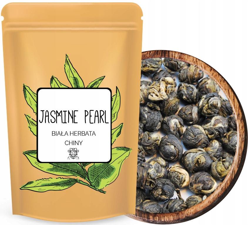 + DRAGON PEARL JASMINE белый чай из жасмина жемчуга +