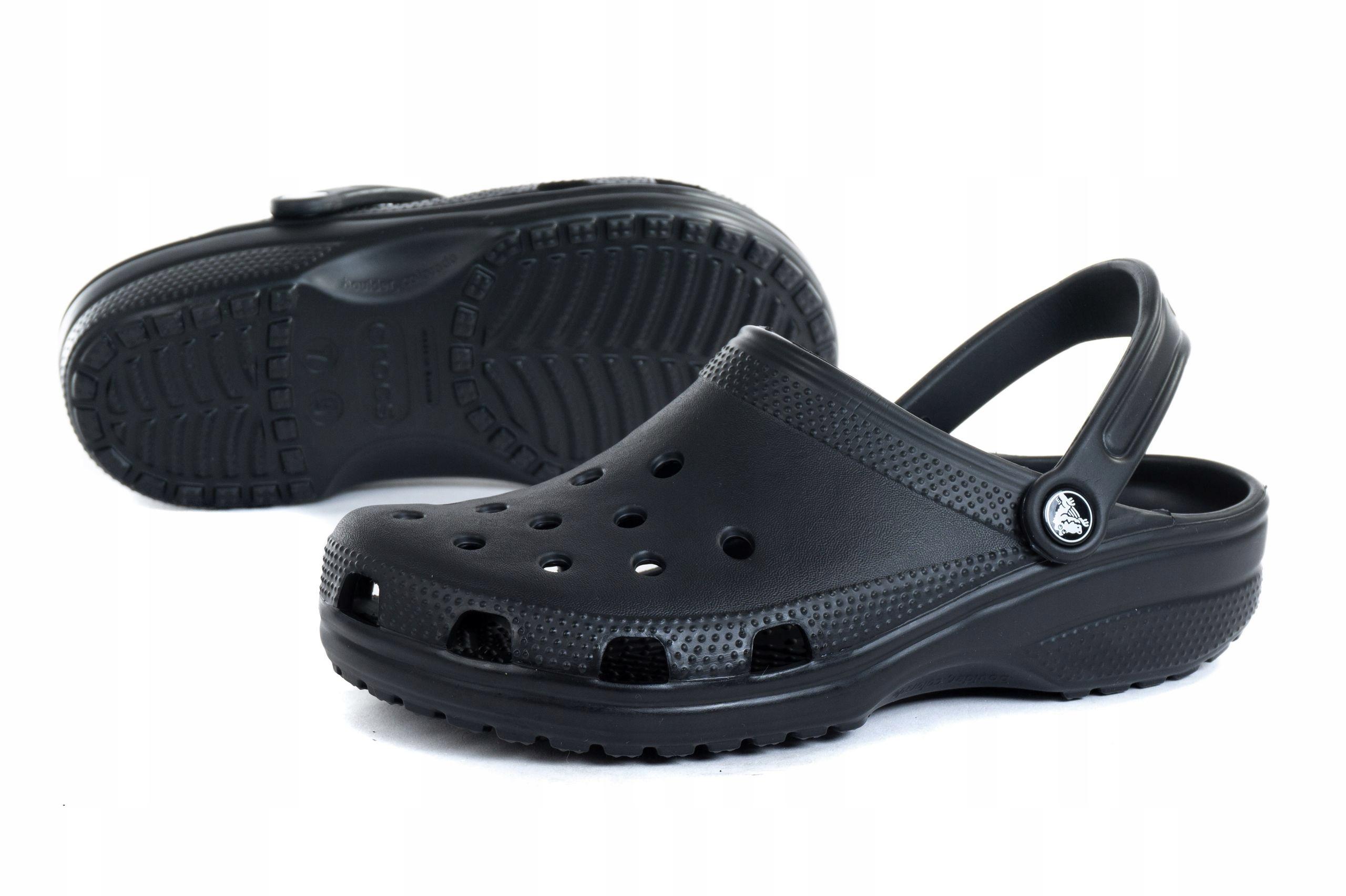 Sandały Crocs Damskie Classic 10001-001 Czarne
