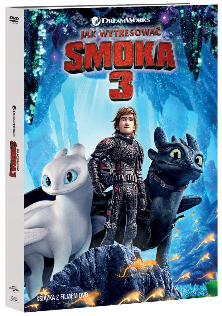 Item HOW TO TRAIN YOUR DRAGON 3 (DVD)
