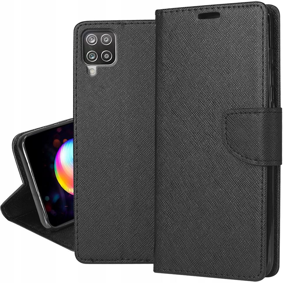 Etui do Samsung Galaxy A12 Portfel Case + Szkło 9H