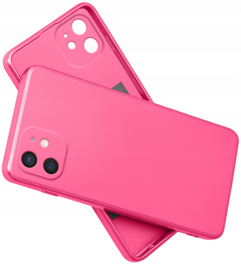 Etui do iPhone 11 SILIKON CASE + SZKŁO 9H