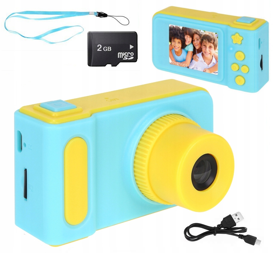Digitálny fotoaparát Detská LCD 5 herná kamera U127