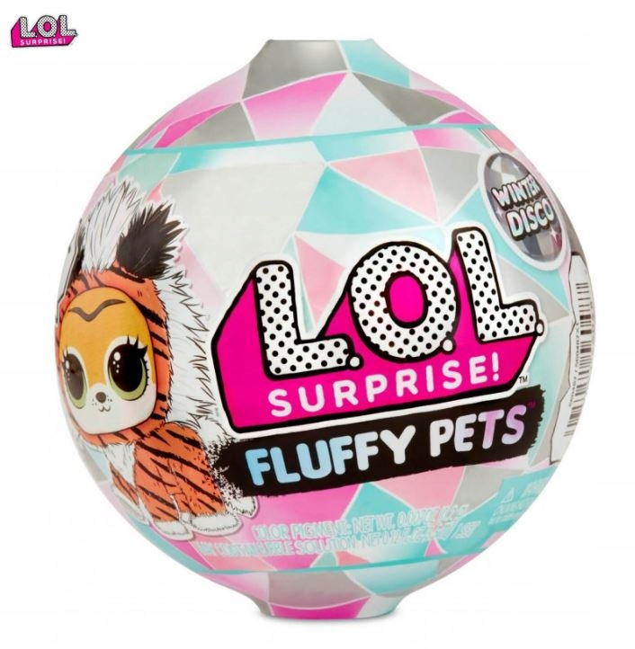 LOL FLUFFY PETS PETS SURPRISE BALL 560487