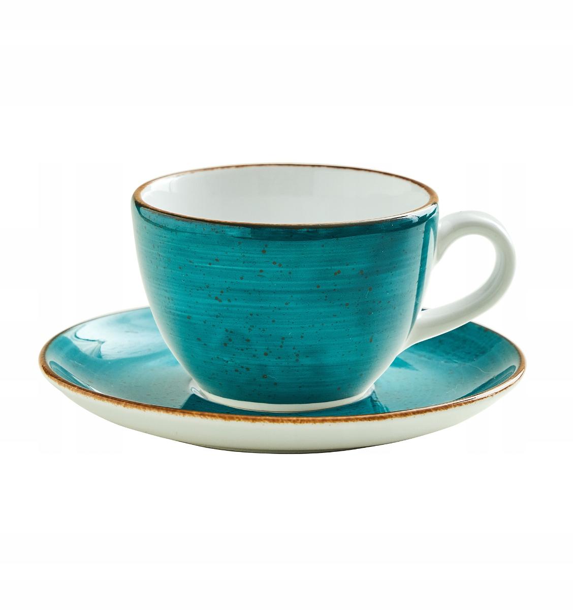 Чашка с ручной росписью Liked sea 180мл