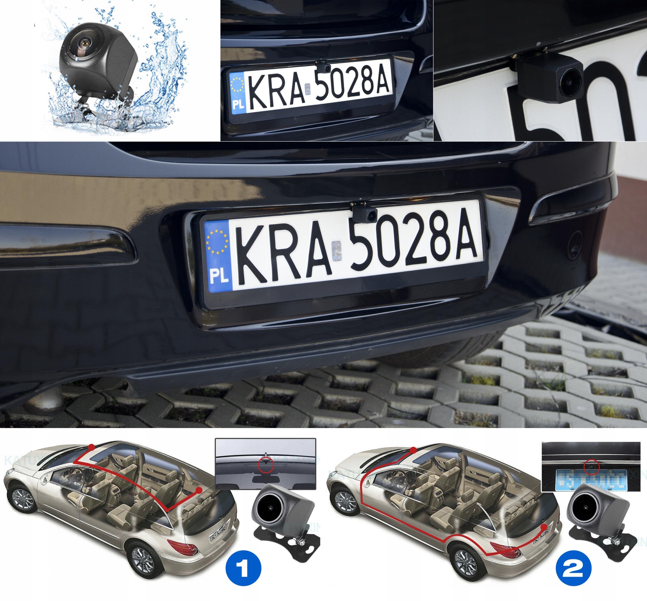 Kamera Rejestrator lusterko 2K+FHD HS900PRO SONY Zasilanie akumulatorowe gniazdo zapalniczki samochodowej