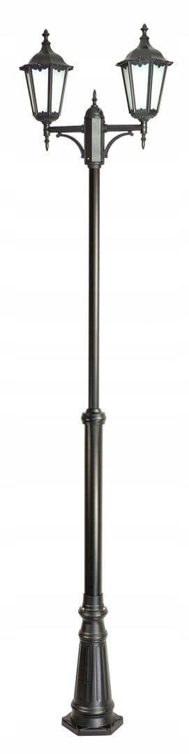 Lampa garden RETRO 2x60W maják 195-295 cm