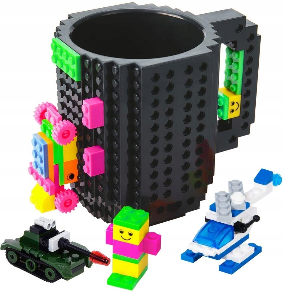 KUBEK KREATYWNY DO KLOCKÓW LEGO | WIELE KOLORÓW