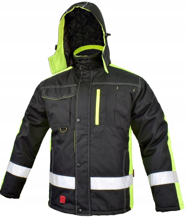 WINTER WORK JACKET INSULATED THICK STRONG r L