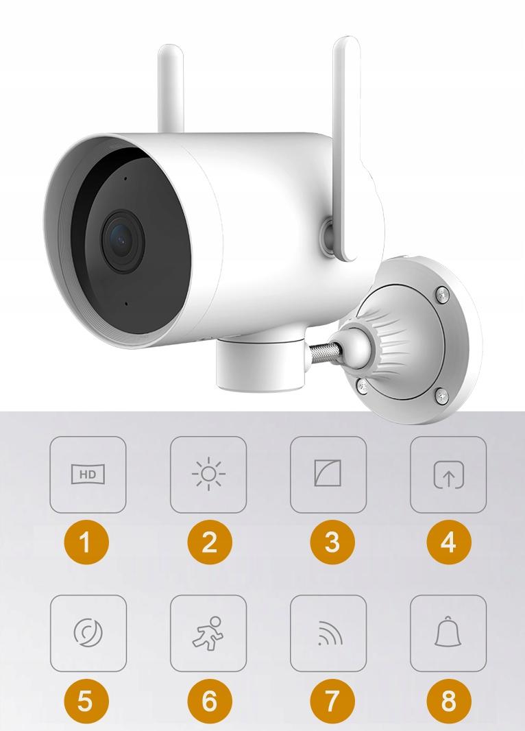 IMILAB EC3 Kamera IP ZEWNĘTRZNA obrotowa 3MPIX 2K Model CMSXJ25A EC3