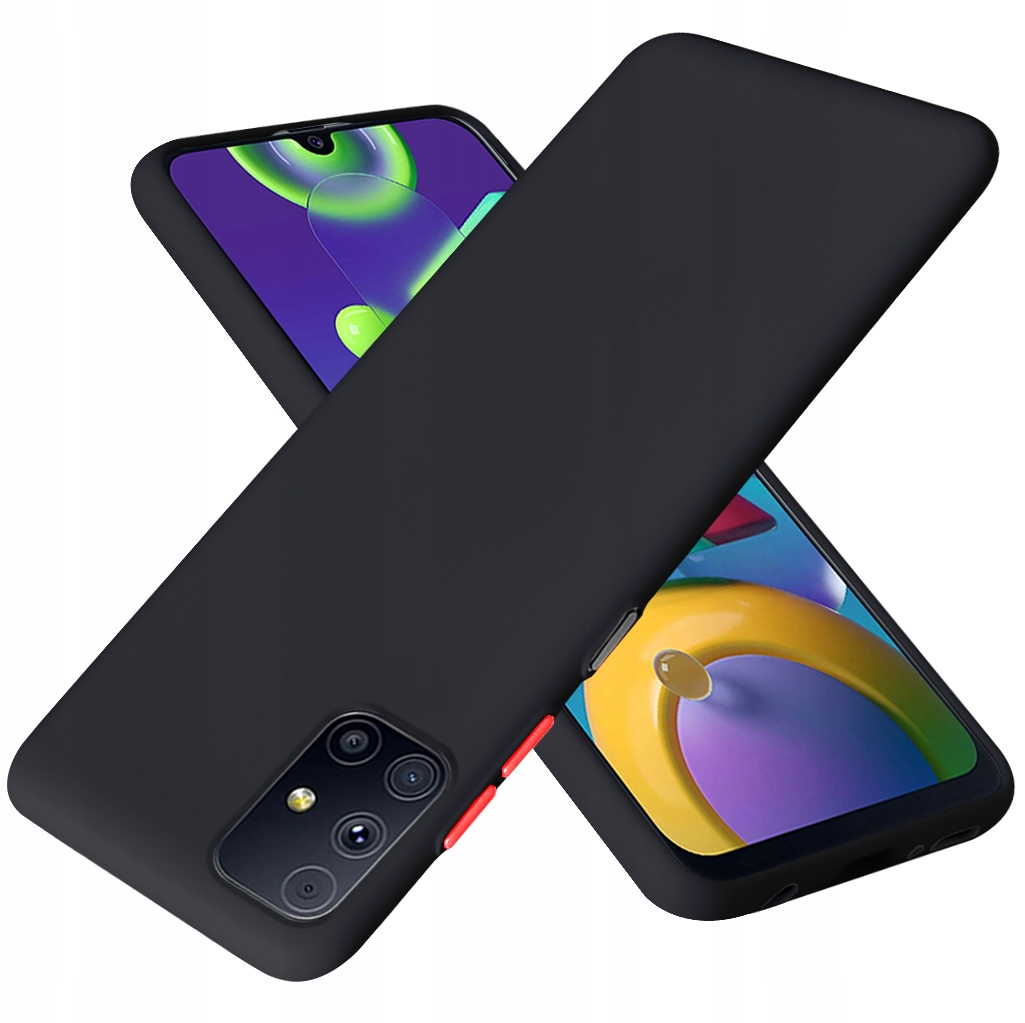 Etui do Samsung Galaxy M31S Case Silikon + Szkło