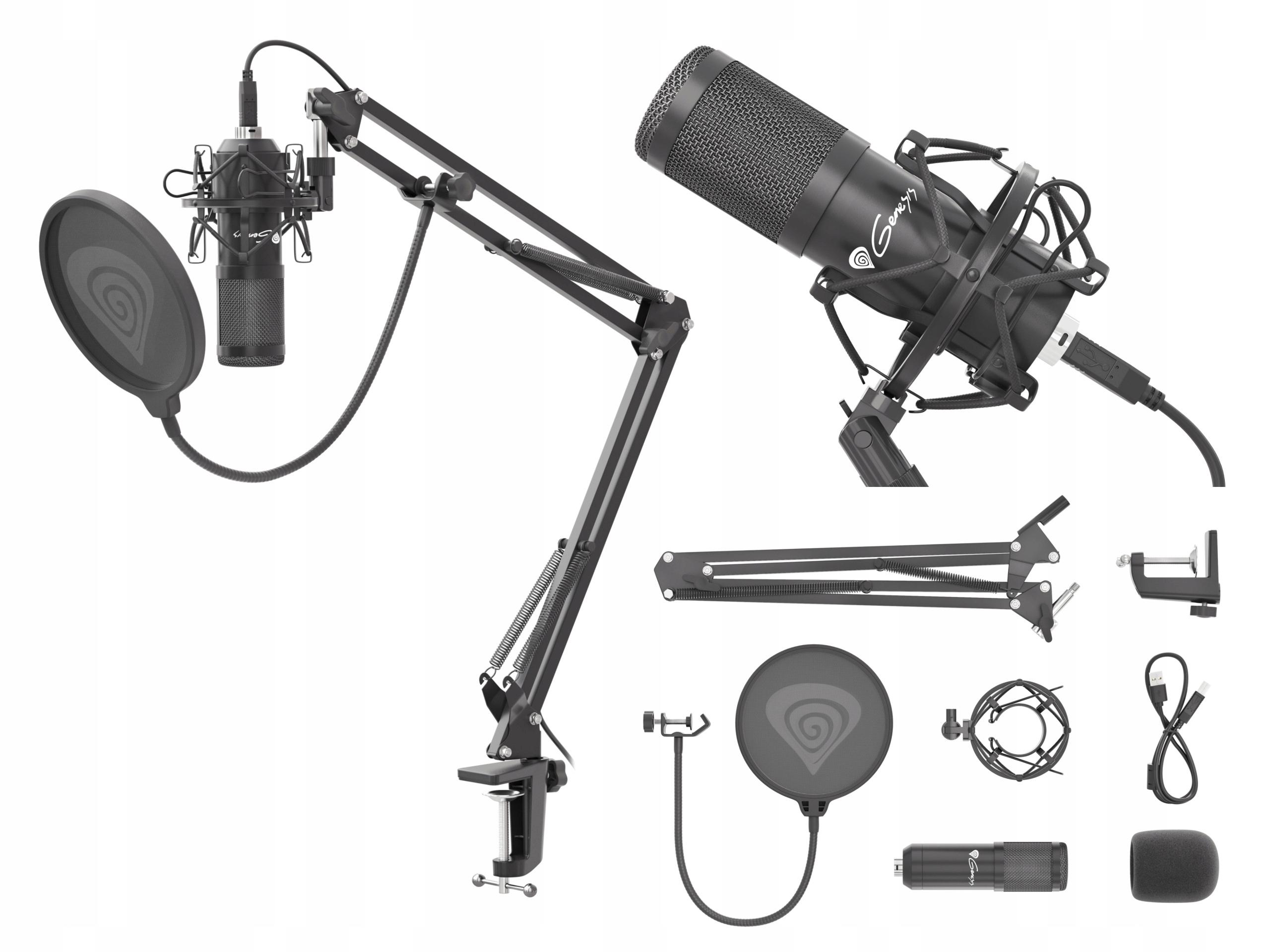 Genesis Radium 400 Streaming Studio Mikrofón