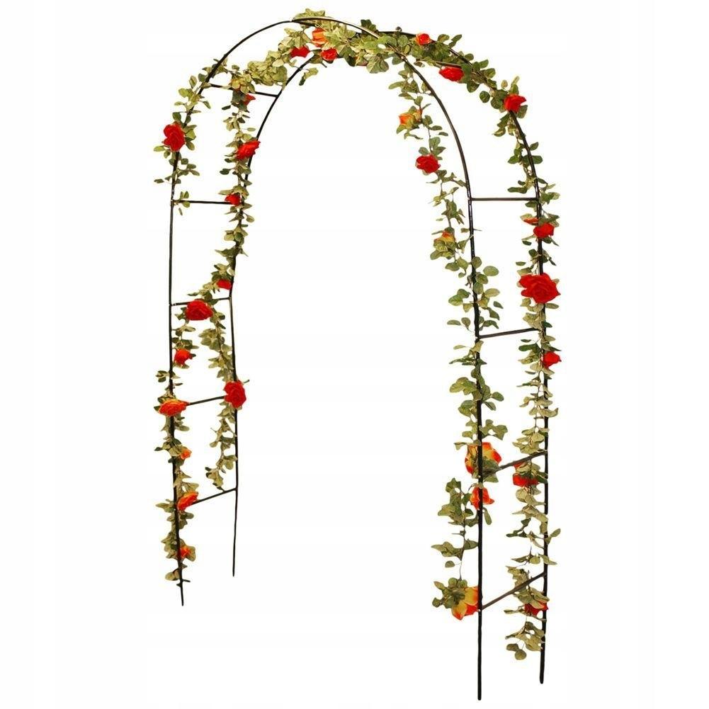 Pergola OGRODOWA metalowa drabinka łuk na pnącza