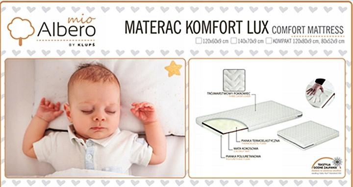 KLUPŚ KOMPAKT Łóżko +Komoda +Tapczanik +Akcesoria Waga produktu z opakowaniem jednostkowym 96 kg