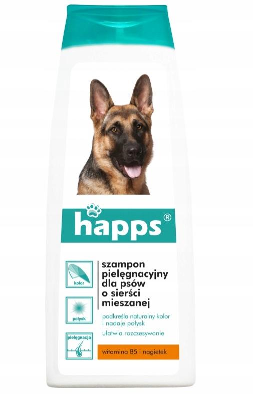 Шампунь HAPPS для собак со смешанной шерстью 200мл