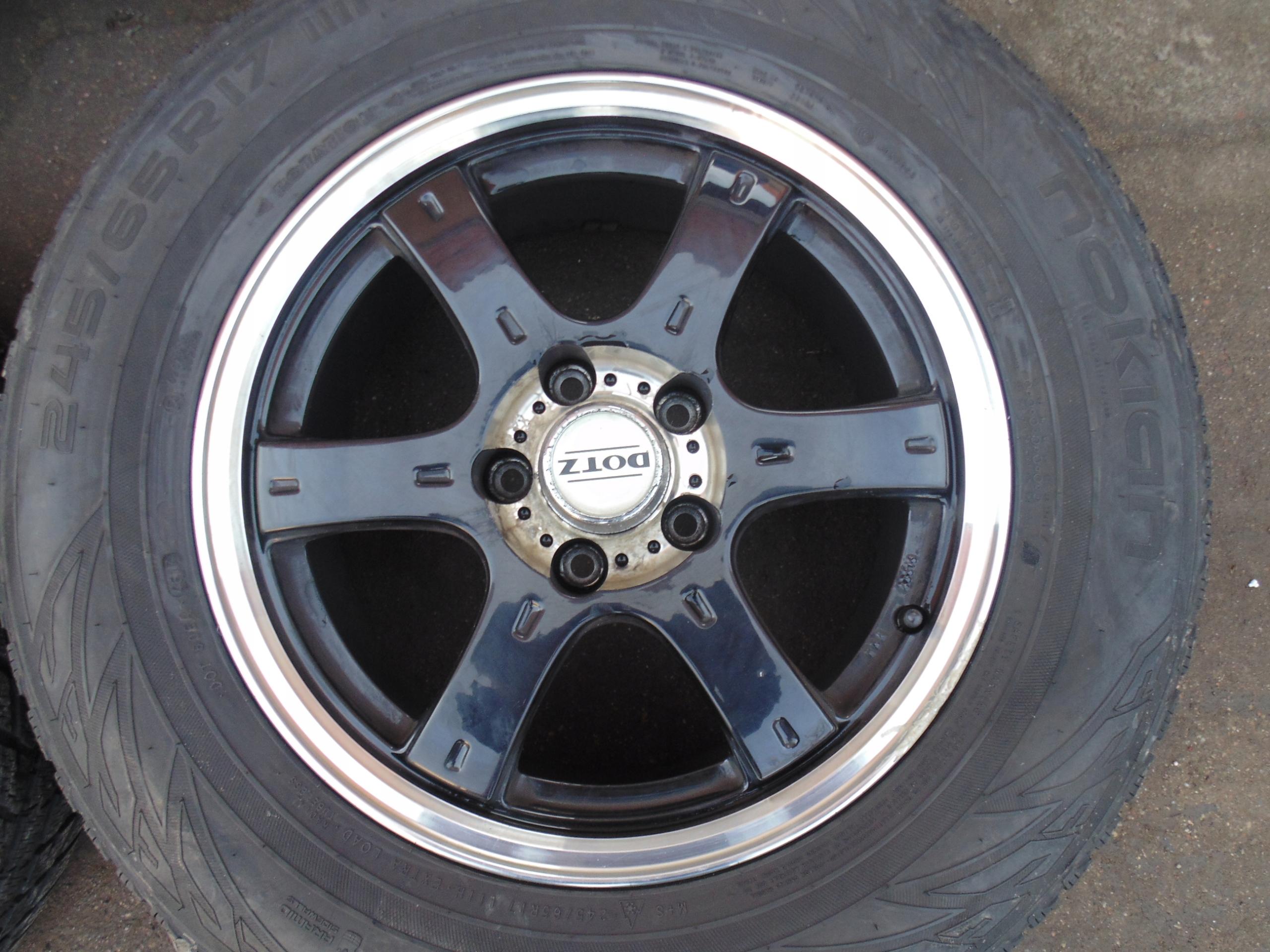 Picture of RIMS 17 DOTZ TYRES VW AMAROK 245/65/17 2018R