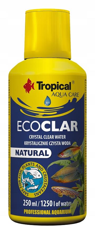 TROPICAL ECOCLAR 250ml KRYSTALICZNIE CZYSTA WODA