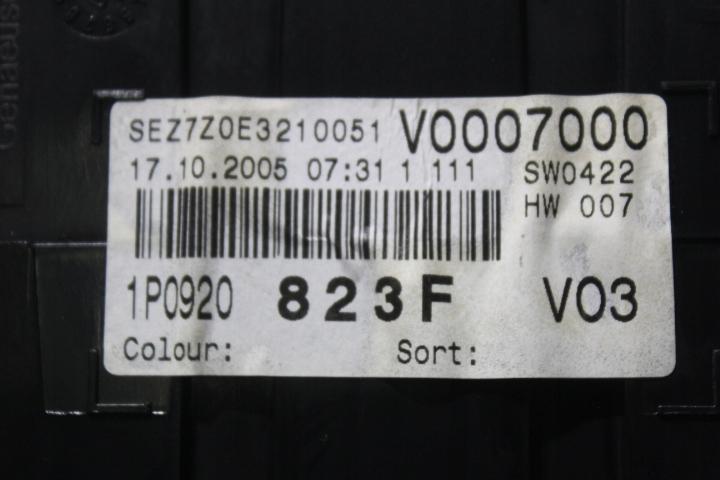 Picture of SPEEDOMETER SEAT LEON II
