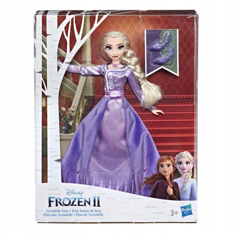 Kraina Lodu 2 Lalka Elsa w sukni deluxe