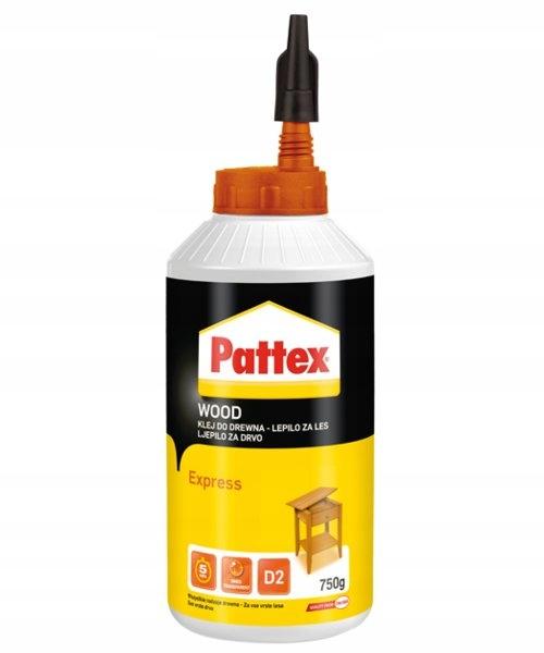 Klej do drewna PATTEX EXPRESS 750g szybkoschnący