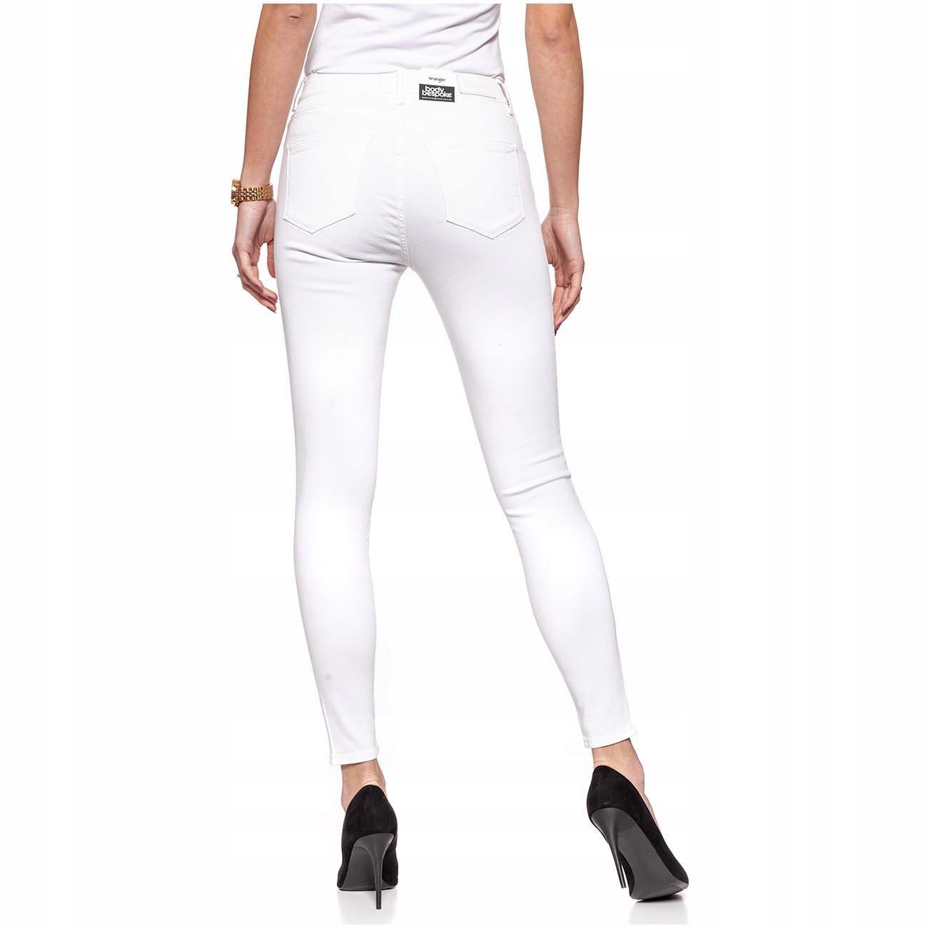 Wrangler High Skinny Spodnie Damskie Jeans W28 L32