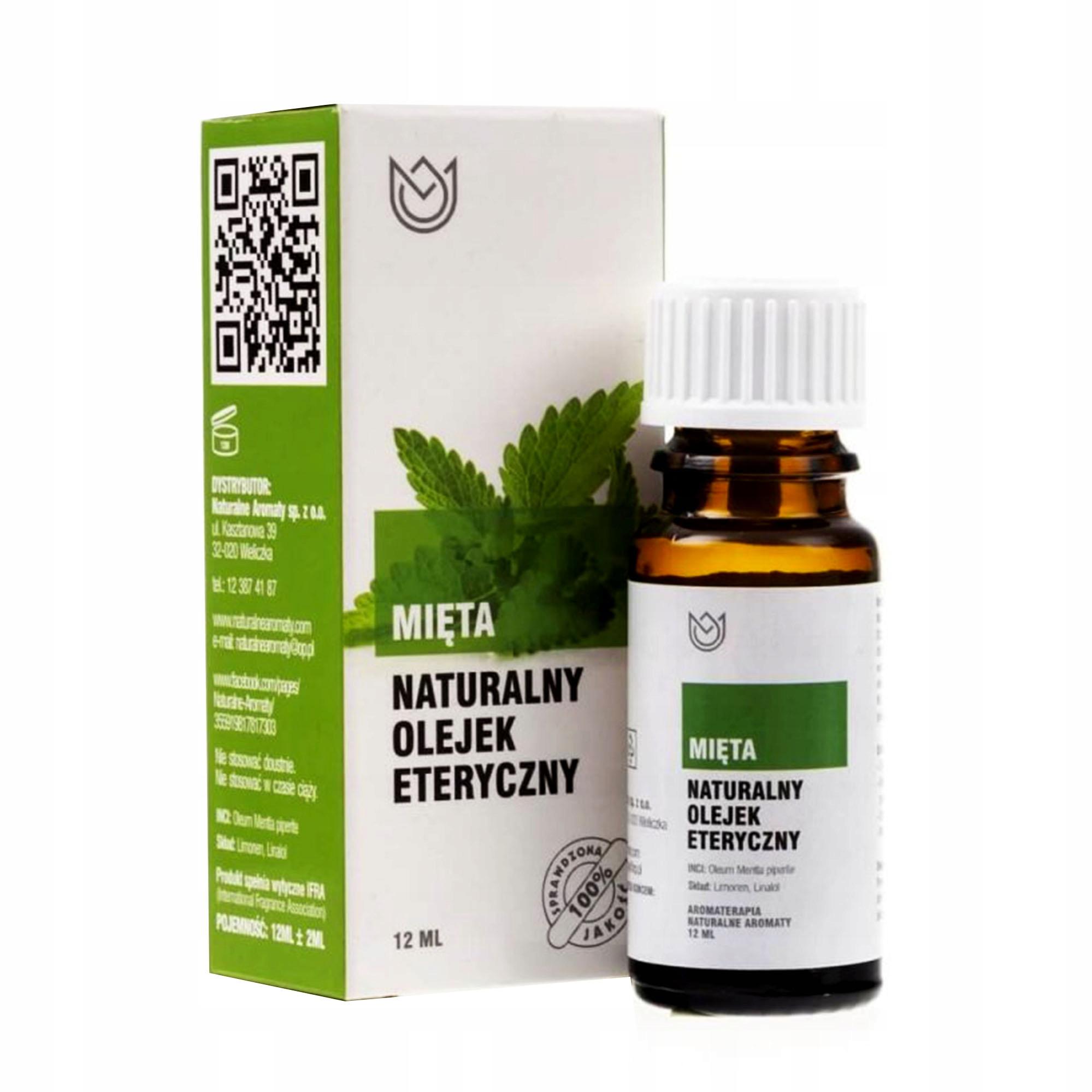 NATURALNE OLEJKI ETERYCZNE zestaw 9szt lecznicze Pojemność 12 ml