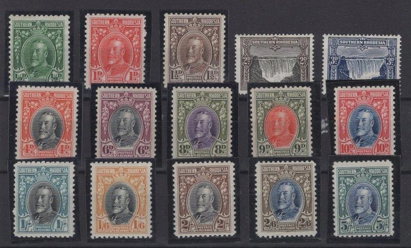АНГЛИЙСКИЕ КОЛОНИИ - 1931, Mi. 15–29 A / E ** / *
