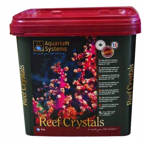 Akvárium Systémy Útes Kryštály 10 kg