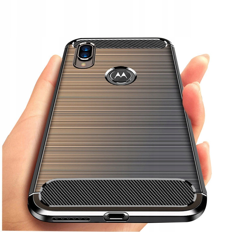 Etui do Motorola Moto E6 Plus Pancerne Case +Szkło