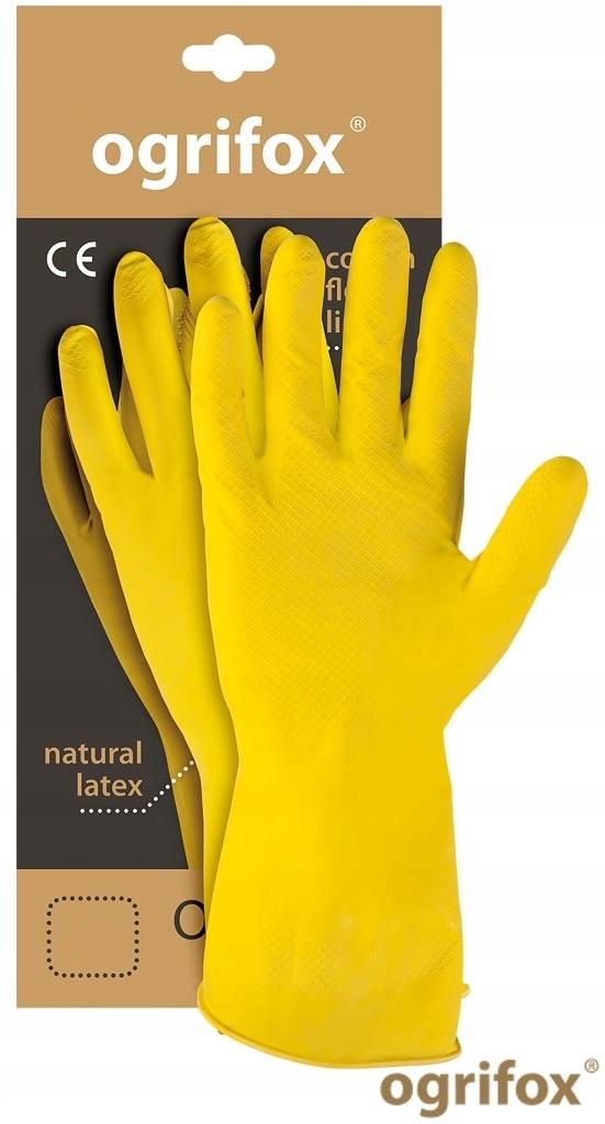 Перчатки резиновые хозяйственные латексные XL ( 5par )