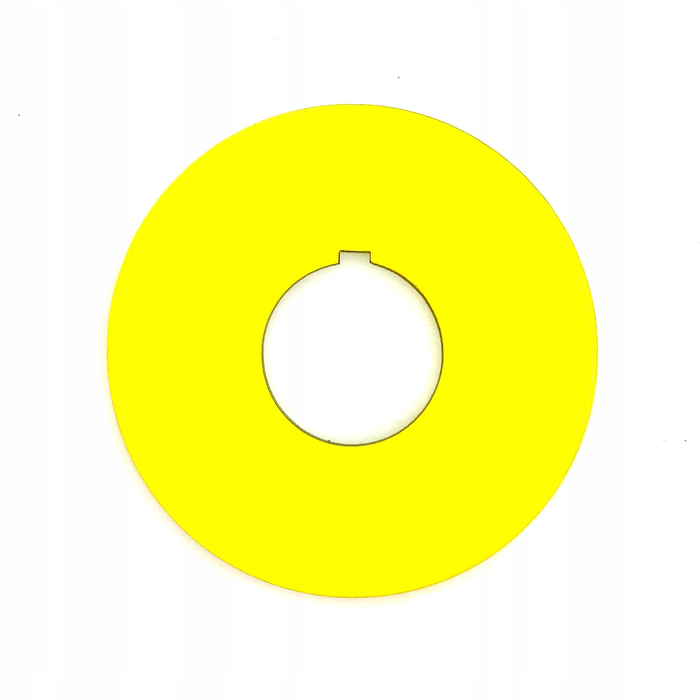 Žltá tableta pre Bezpečnostný spínač 60 mm