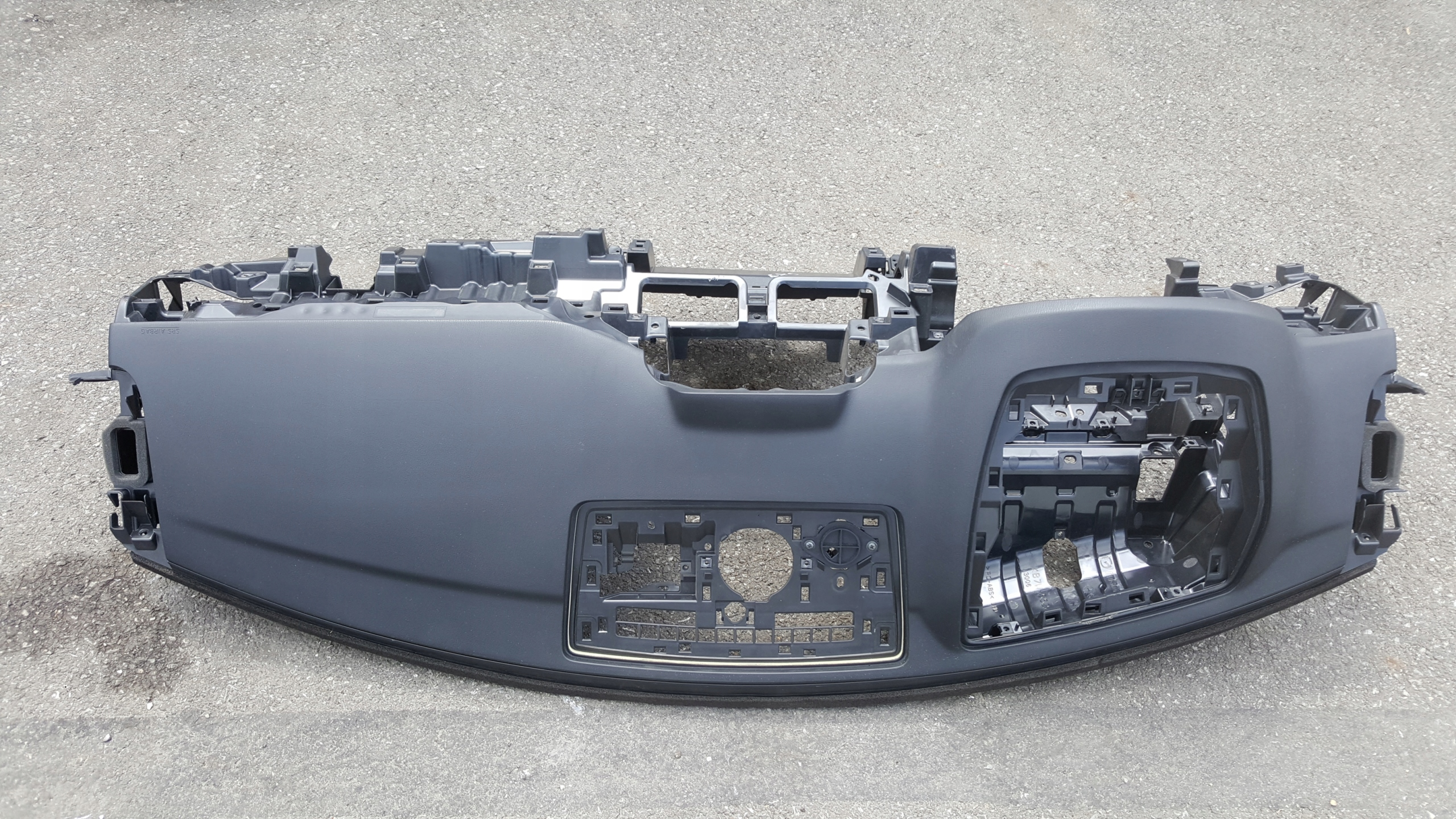 доска панель airbag mazda cx-5 ii 17- head up