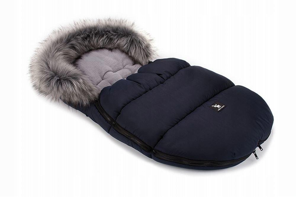 Nepremokavý, teplý a plyšový detský spací vak