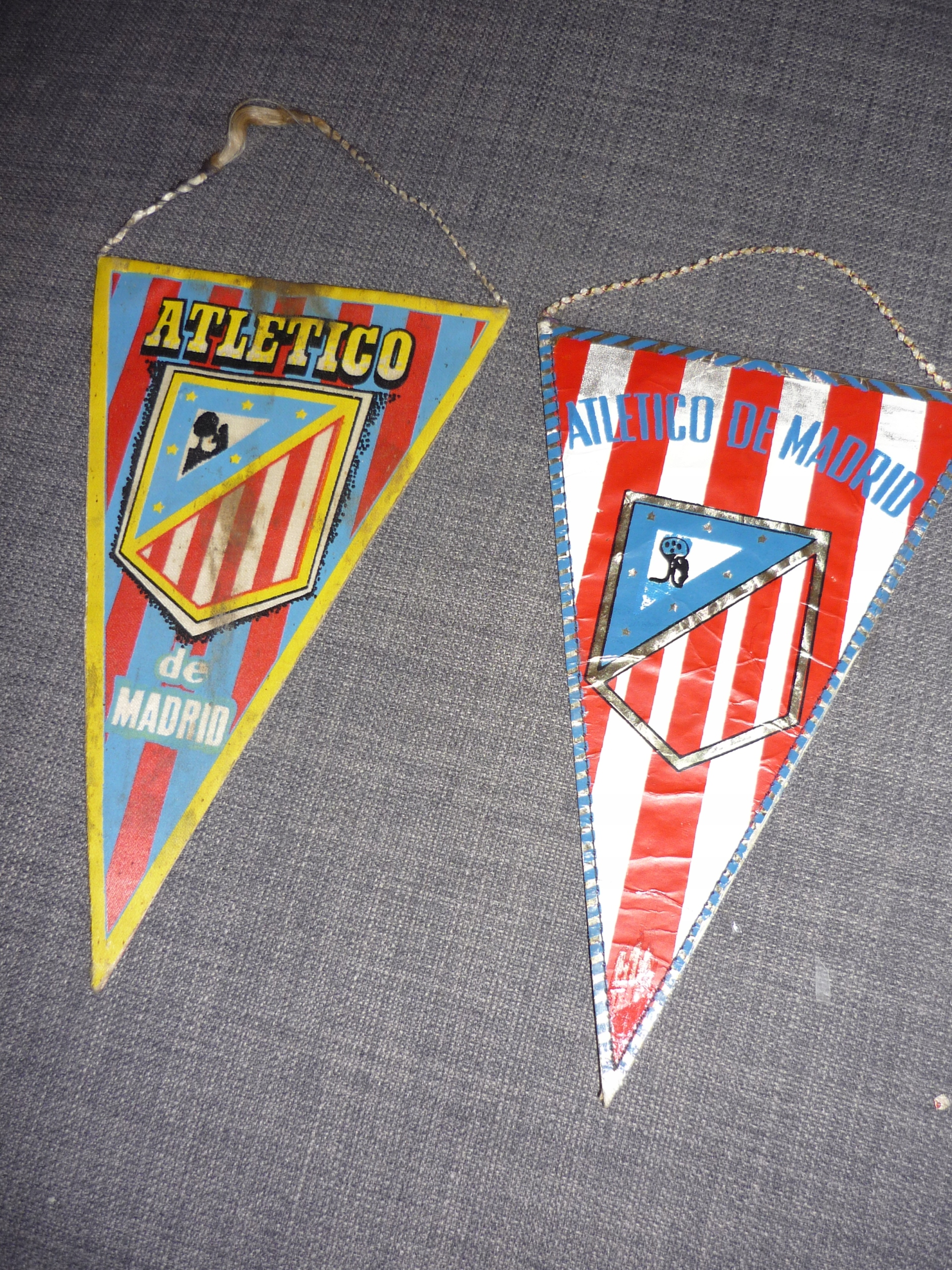 2x proporczyk Atletico Madrid - Madryt - Hiszpania