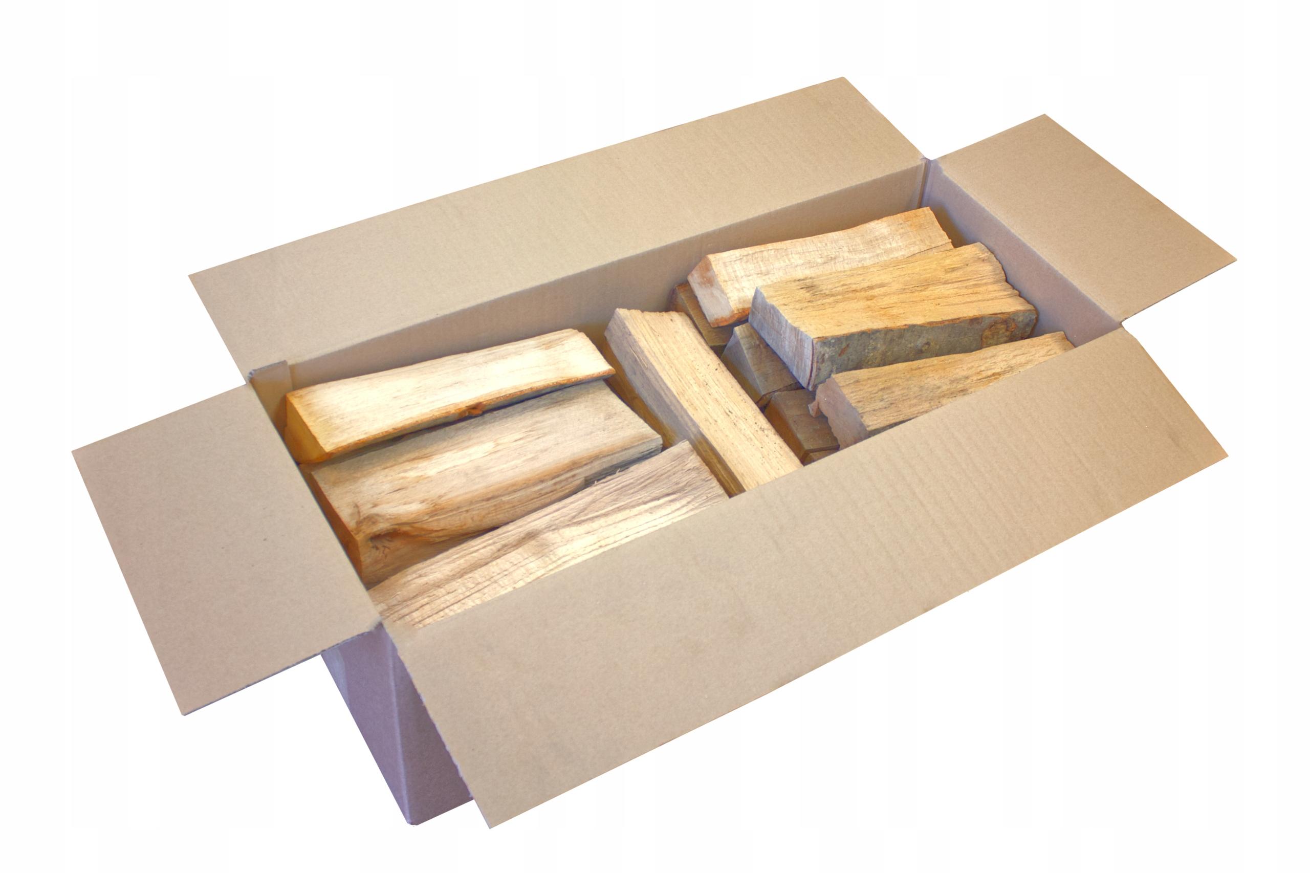 Дрова сушеные / сухие в картонной коробке 28кг-60л