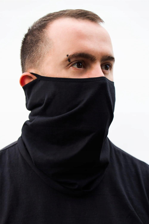 Шарф Маска для лица Chimney black L / XL