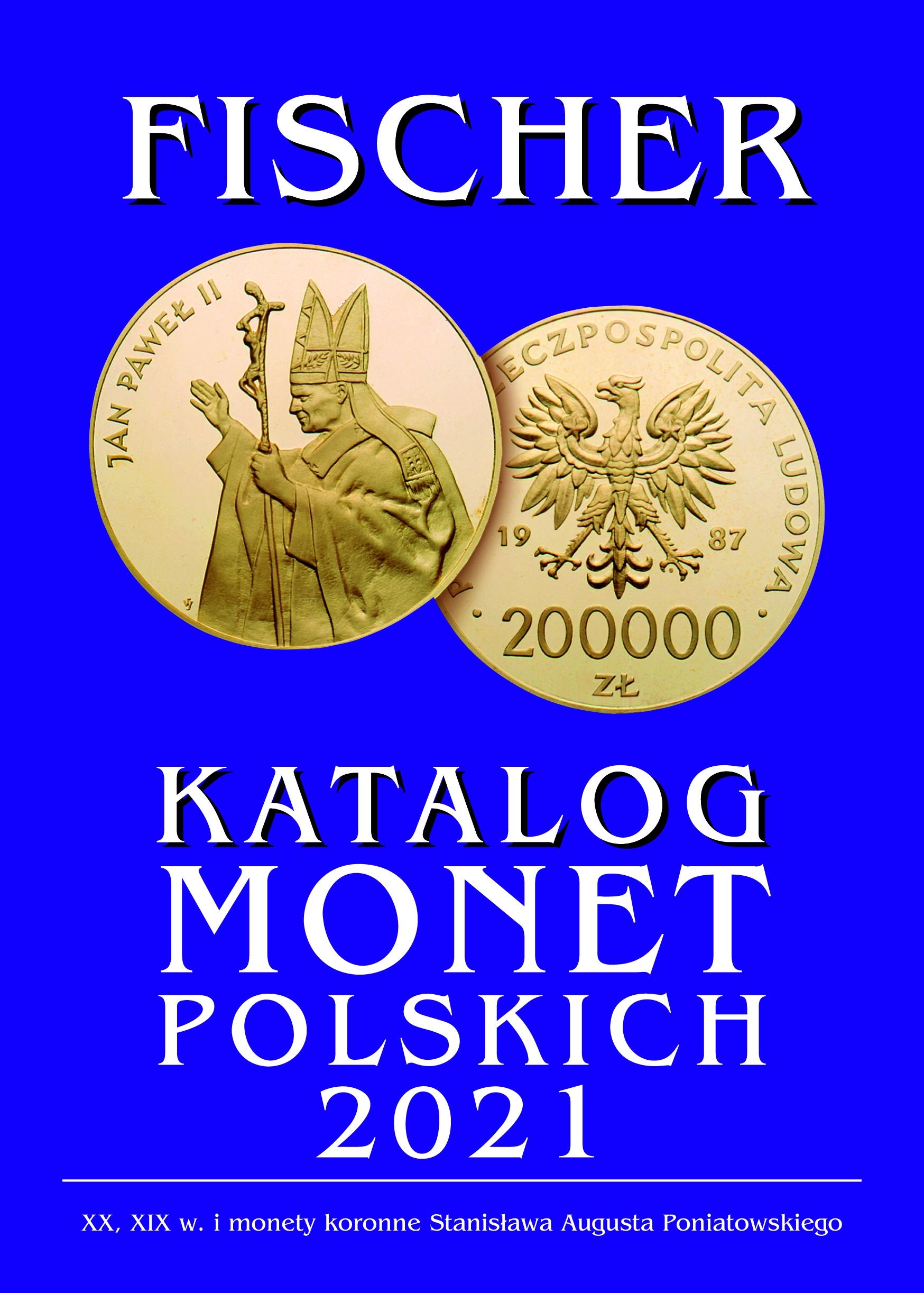 FISCHER KATALOG MONET POLSKICH 2021