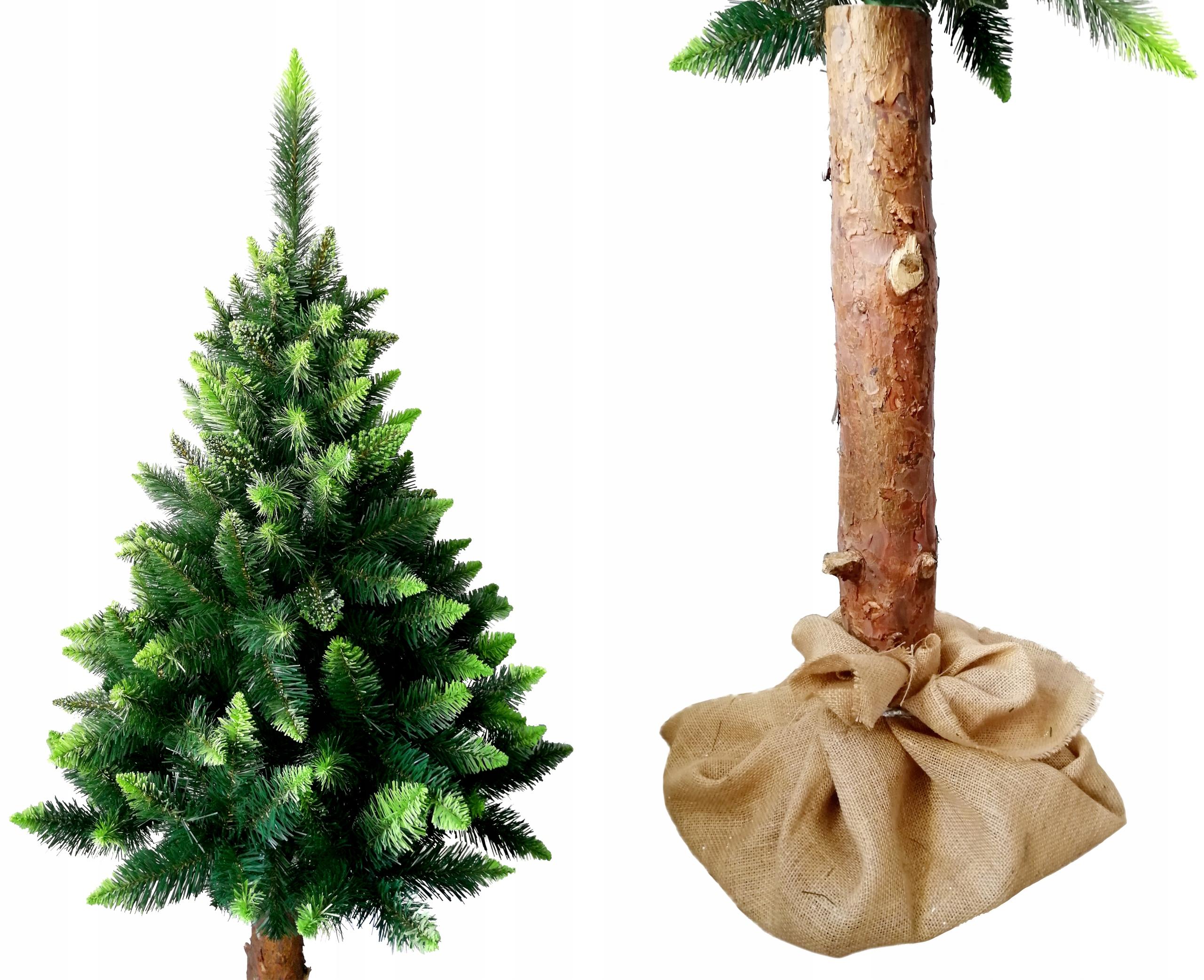 160CM Umelý vianočný stromček SELECTINE PINE na kufri