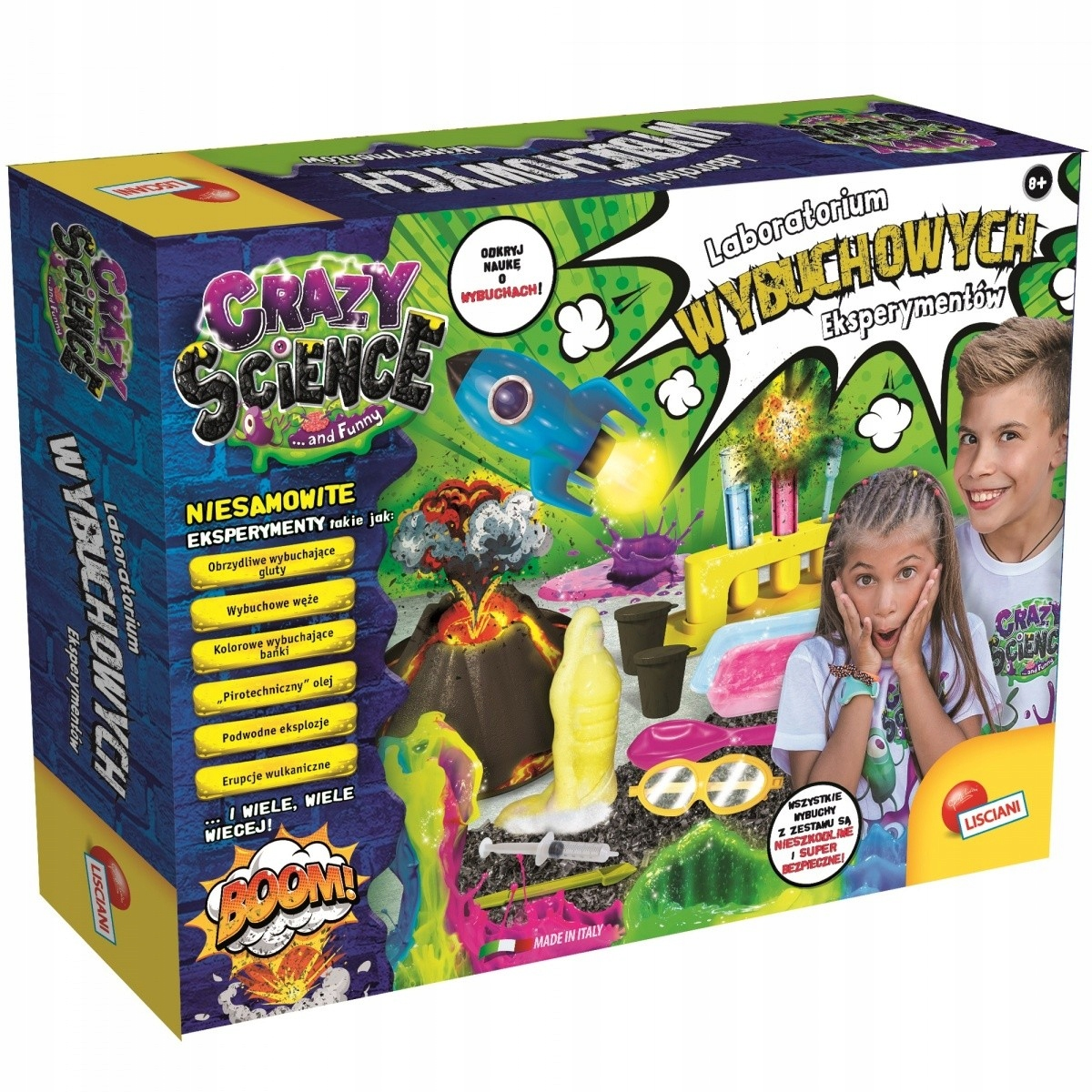 LISCIANI Crazy Science Laboratory kit